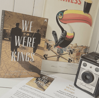Photo of book titled we were kings