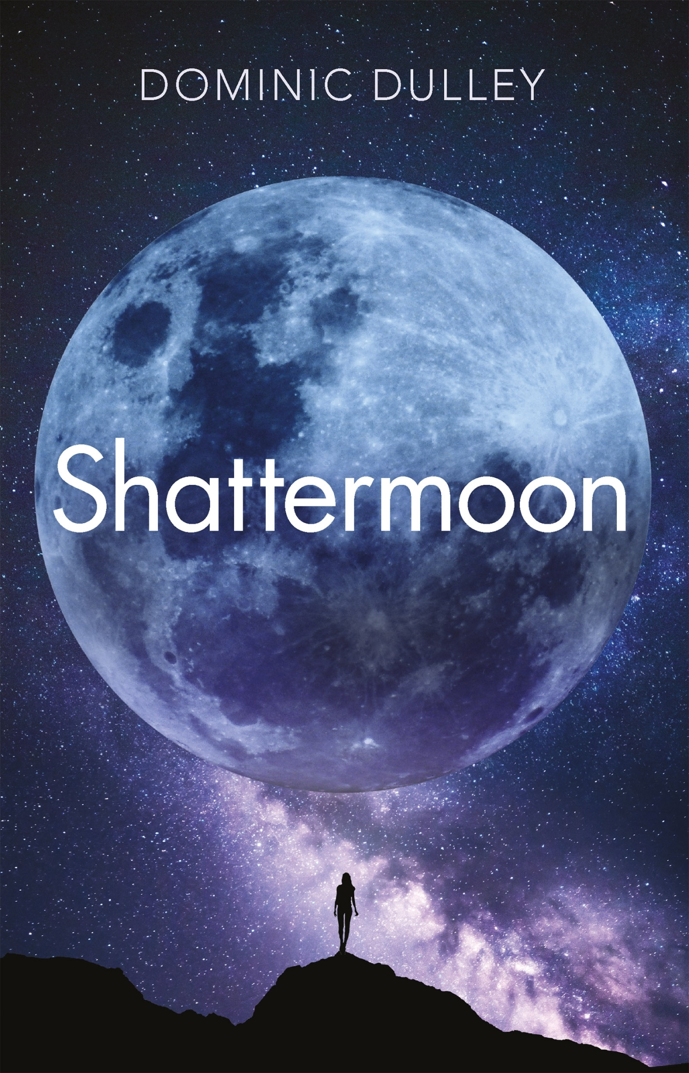 Book cover Shattermoon by Dominic Dulley