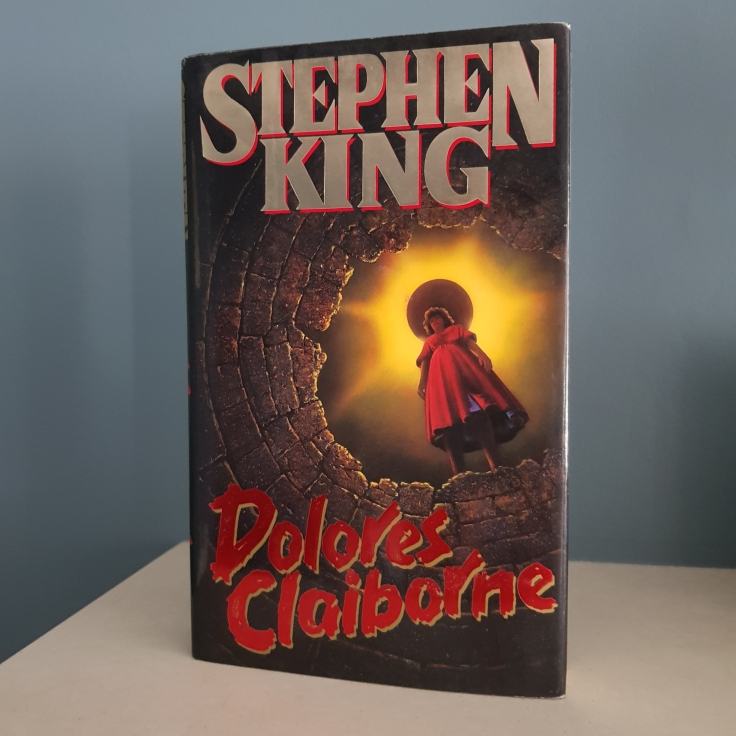 First Edition Book Cover Dolores Claiborne by Stephen King