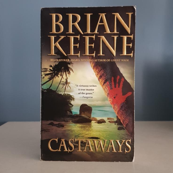 Castaways by Brian Keene vintage horror paperback